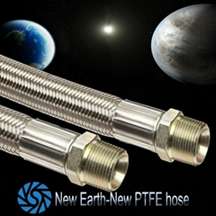 pipe fittings importers braided with stainless steel teflon ptfe hose