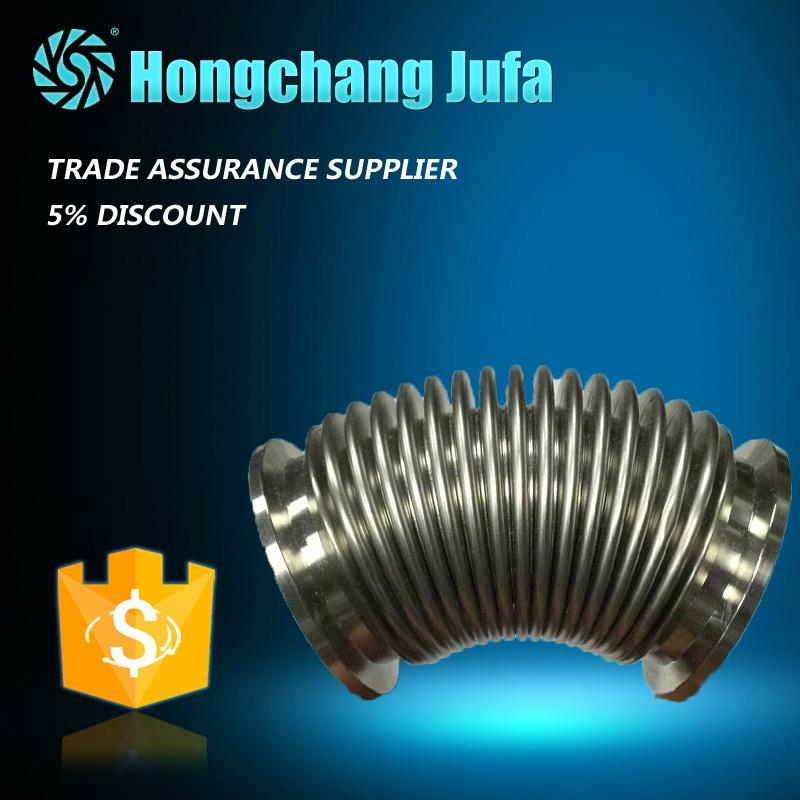 welded flange stainless steel metal bellows pipe expansion joint/compensator 2