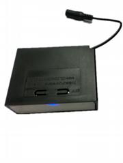 專利12V3節18650電池組用電池盒