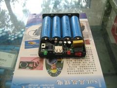 5v 12v 輸出  充電寶 小型移動電源 電池盒 手機供電