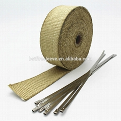 BSTFLEX Vermiculite Fiberglass Exhaust Wrap
