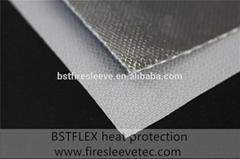 Aluminum Fiberglass Heat shield Fabric Cloth
