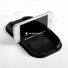 PVC环保软胶卡通手机防滑垫