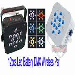 Remote Controlled Battery Wireless DMX DJ Lighting