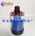 Wind turbine gear box air filter, dc-2, dc-3, dc-4 respirator filter element
