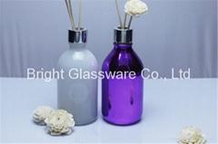 custom spray color perfume bottle with knob lid supplier