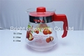 Hot-selling glass water jug with lid for restaurant or hotel 4