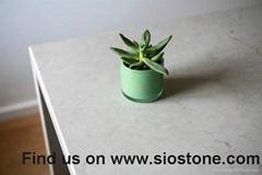 Elegant Artificial Quartz Stone Kitchen Countertop and Vanity Top