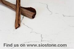 Carrara White Marble Like Quartz Countertops