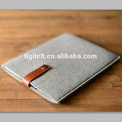 Felt pad tablet sleeve cover