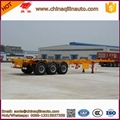 Lowest price Skeleton semi trailer with
