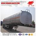 Tri-axle BPW Oil  aluminum  tanker