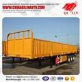 Cheapest price Tri-axle  box semi trailer for sale  2