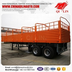 Cheapest price Tri-axle  box semi trailer for sale
