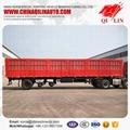 Cheapest price Tri-axle  box semi trailer for sale  4