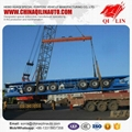 2015 lowest price 3 axle  flatbed