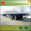 40ft  flatbed semi trailer with twist