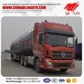 Tri-axle Aluminum tanker semi trailer
