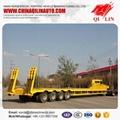 4 axle low flatbed semi trailer, 4 axle