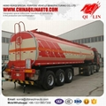 3 axle Chemical fuel  tank  trailer for