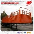 3 axle side wall open  Semi trailer for
