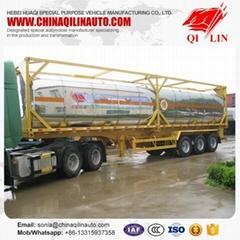 40ft container tanker semi trailer