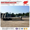3 axle low bed trailer  with hydraulic
