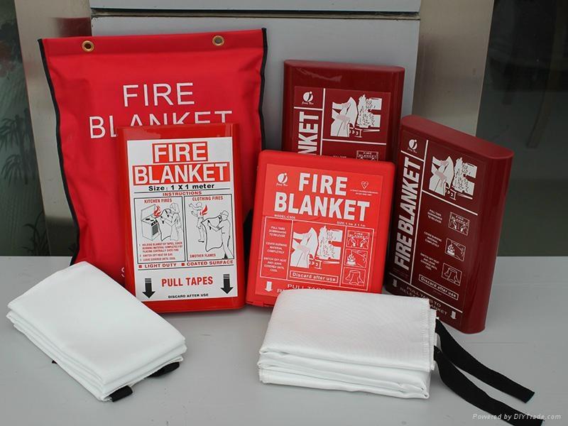 EN1869 fiberglass fire blankets 1