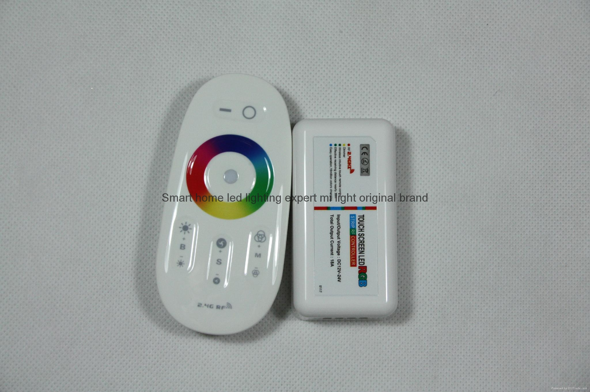 remote control wireless 2.4G RF smart color changed wholesale rgb led controlle 5