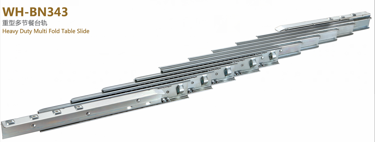 multi sections extention table slide  2