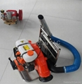 Backpack style Mini cotton harvester for