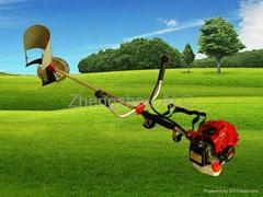 Farm machine wheat rice harvester