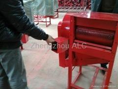 Rice thresher machine rice paddy sheller
