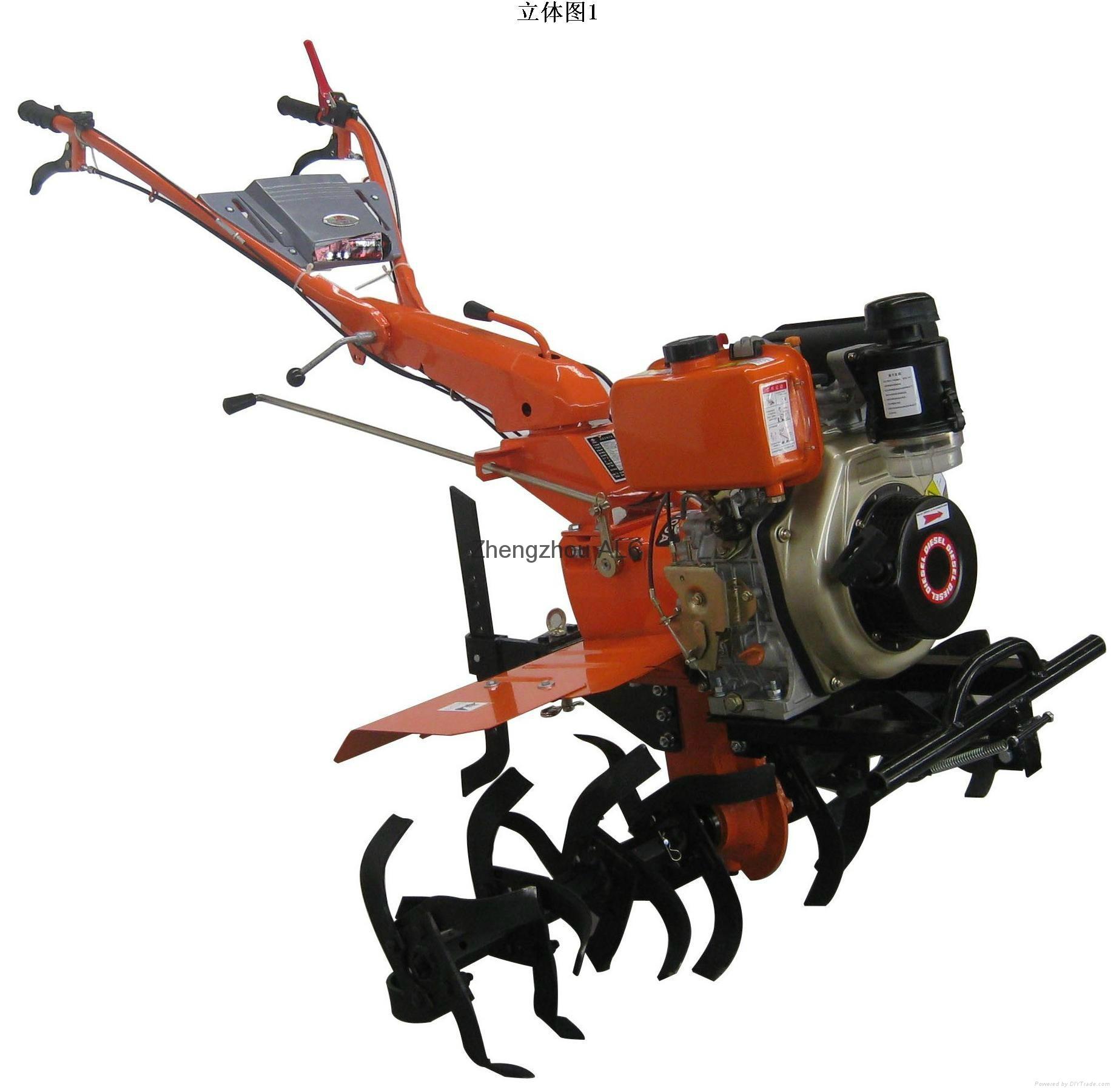 Gaosline engine power tiller agriculture machine 1