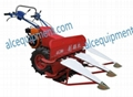 Self propelled  wheat  rice reaper for