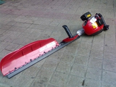 Dual gasoline Hedge Trimmer