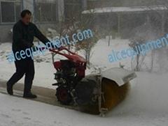 Mini gas  snow sweeper machine for sale