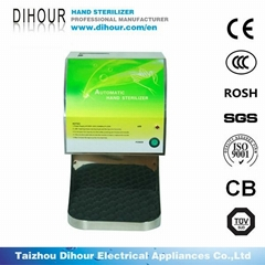 Hot sales hospital erelectric automatic hand sterilizer