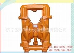 赤峰BQG矿用防爆气动隔膜泵价格