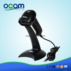 OCBS-LA06: Stand Available Handheld Laser Barcode Scanner