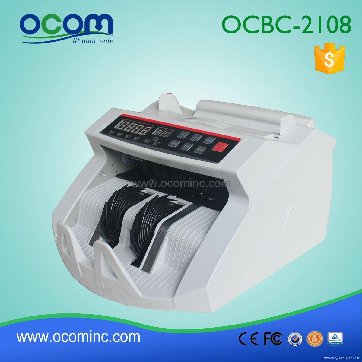 BC-2108: hot selling cash counter bill banknote for POS 5