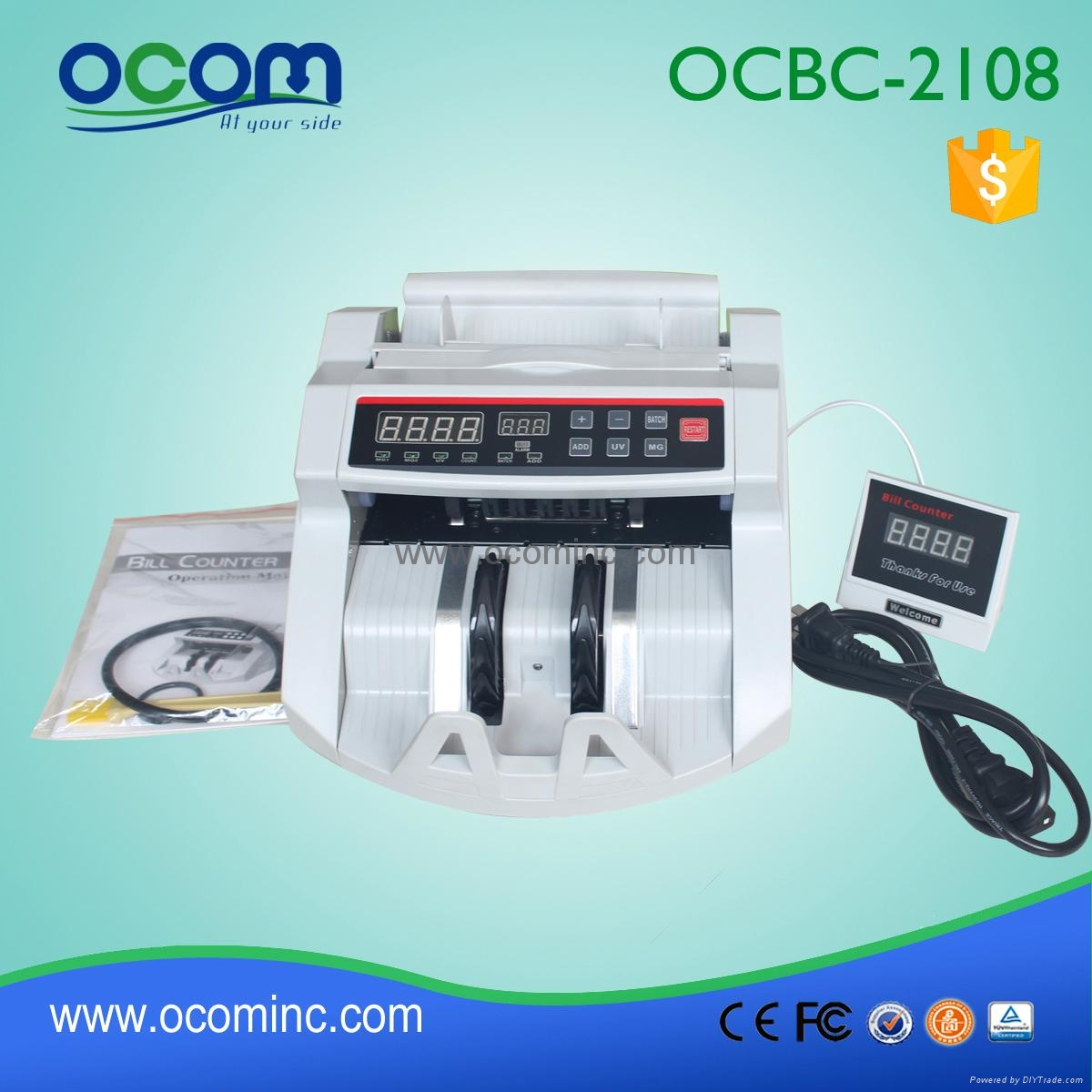 BC-2108: hot selling cash counter bill banknote for POS 4