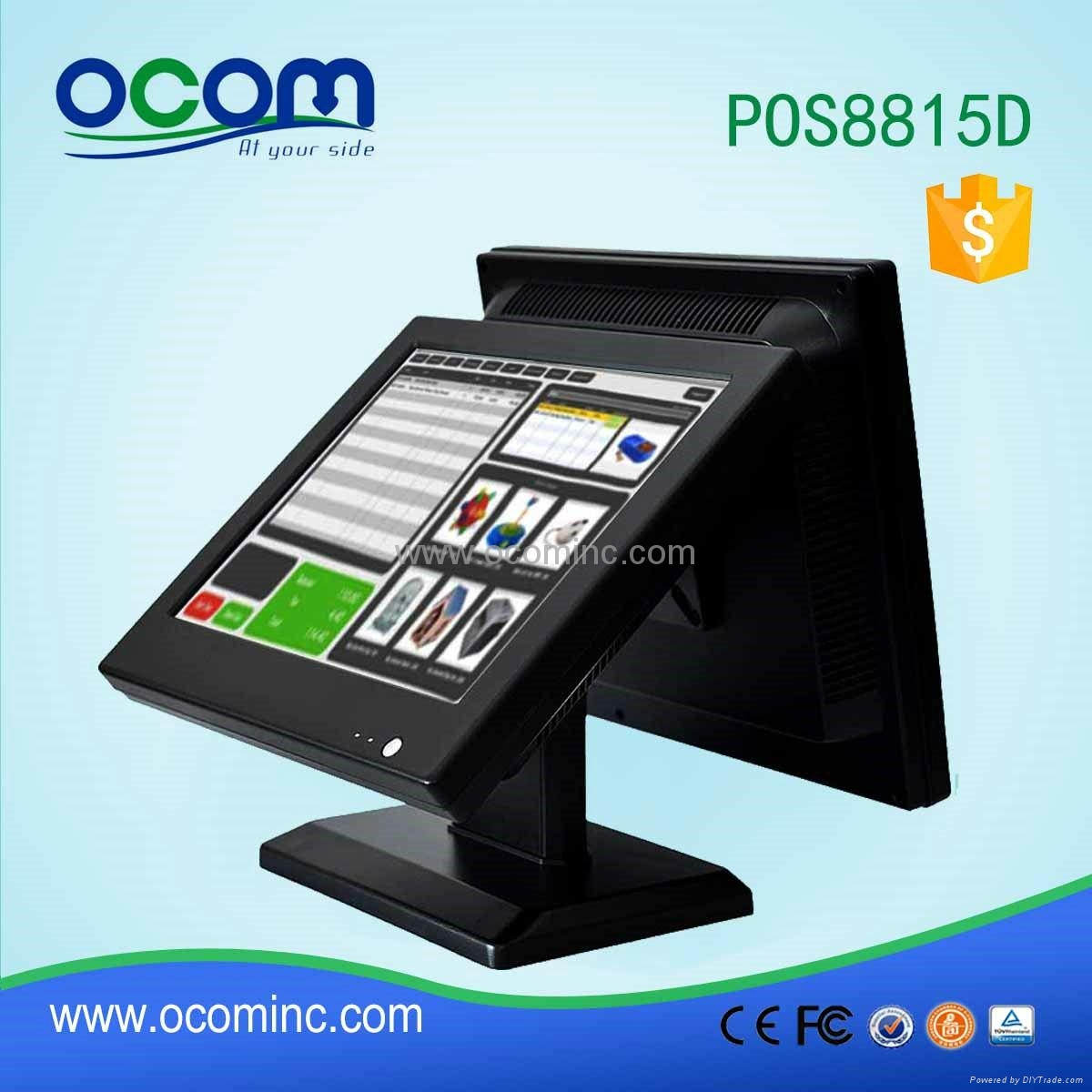 inch all in one pos terminal machine system dual touch 15 inch all in one pos terminal machine system dual touch screen