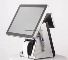 15-inch All in one touch screen POS Terminal With built-in Thermal Printer