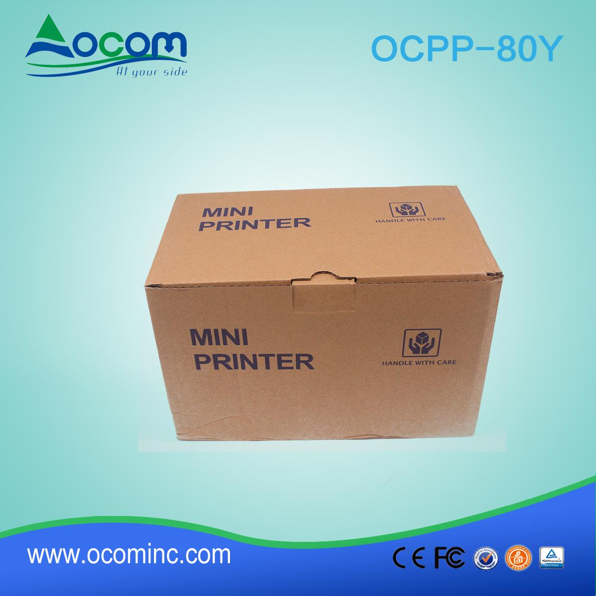 New model 80MM Thermal Printer with Auto Cutter 5