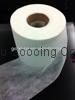 Perforated hydrophilic nonwoven for