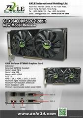 AX-GTX960/2GD5P8DIP Graphics card/VGA card