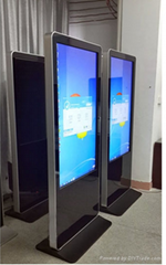 32-82 inch floor stand touch screen lcd ad player with wifi/3G