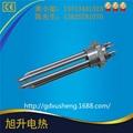 東莞廠家CE認証供水箱加熱304不鏽鋼法蘭頭電熱管 1