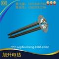 東莞廠家CE認証供水箱加熱304不鏽鋼法蘭頭電熱管 2